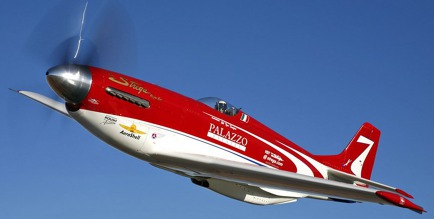 "Foto: Scott Germain - P-51 ""Strega"""
