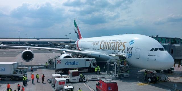 A380 na stojánce.