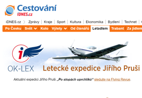 Expedice Flying Revue na iDNES.cz