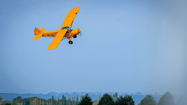 Piper Pa 18 Super Cub. Foto: Martina Burainová