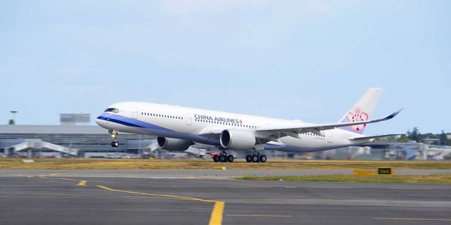 První A350 XWB pro China Airlines. Foto: Airbus.com