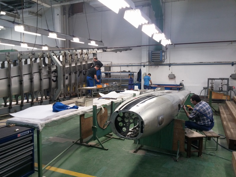 Fuselage assembly.