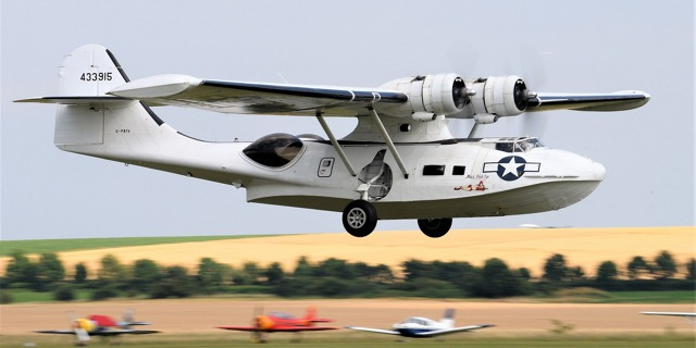 Consolidated PBY Catalina Foto: Michal Čupa
