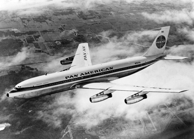 Boeing 707-121 Pan Am za letu u Seattle. Zdroj: Pan American World Airways Inc.