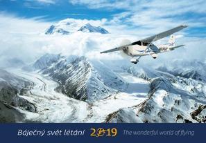 Kalendář Báječný svět létání 2019
