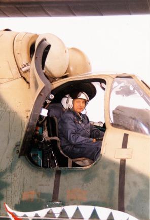 Po posledním přistání 15.12. 1995. Foto: Archiv J. Macury