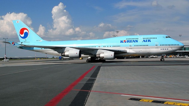 B747-400 Korean Air.