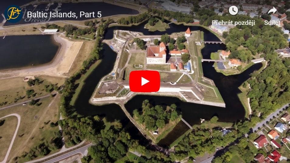 Ostrovy Baltského moře 5: Půvabné Estonsko s jeho meteoritickým kráterem, dvou set metrovými útesy či vodním hradem