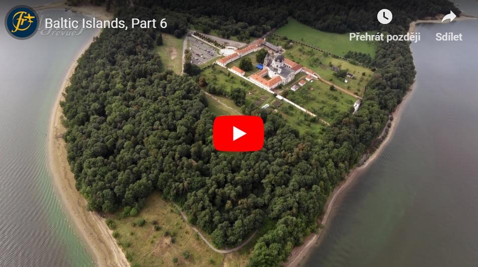 Ostrovy Baltského moře 6: Dvě obří televizní věže a spaní pod letadlem