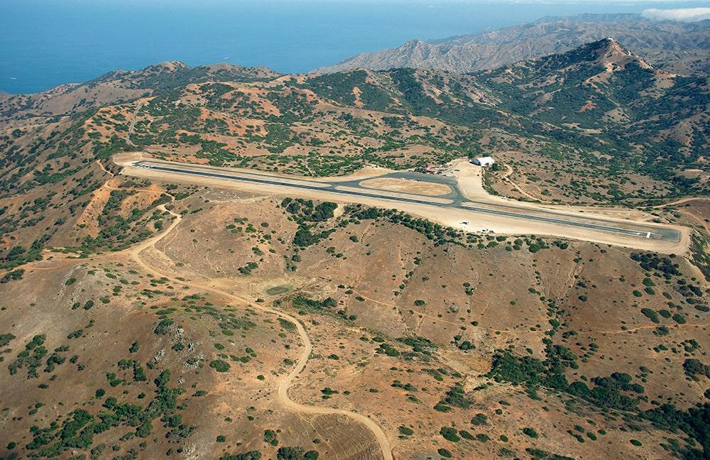 Příběhy leteckých fotek: Letiště Santa Catalina