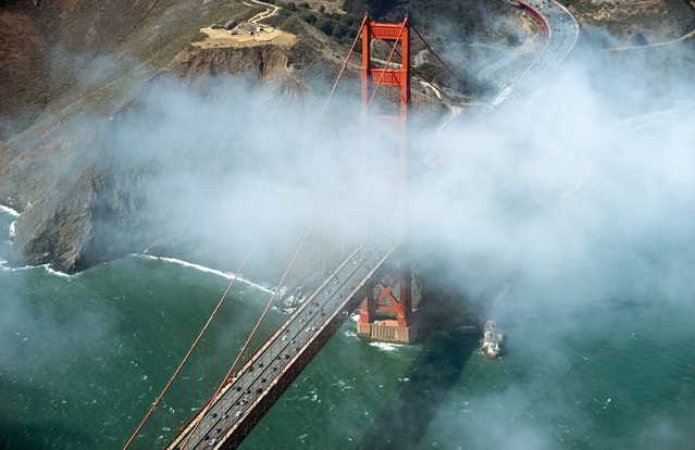 Golden Gate Bridge, San Francisco, Kalifornie, USA. Foto: J. Pruša