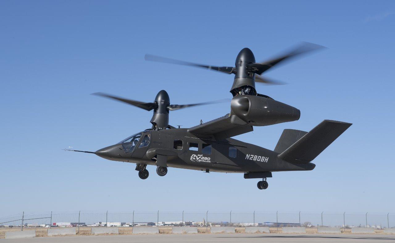 Konvertoplán Bell V-280 Valor uspěl při testu agility v nízké rychlosti