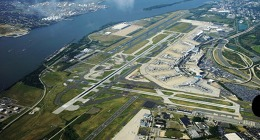 Philadelphia International Airport, pohled z OK-LEX