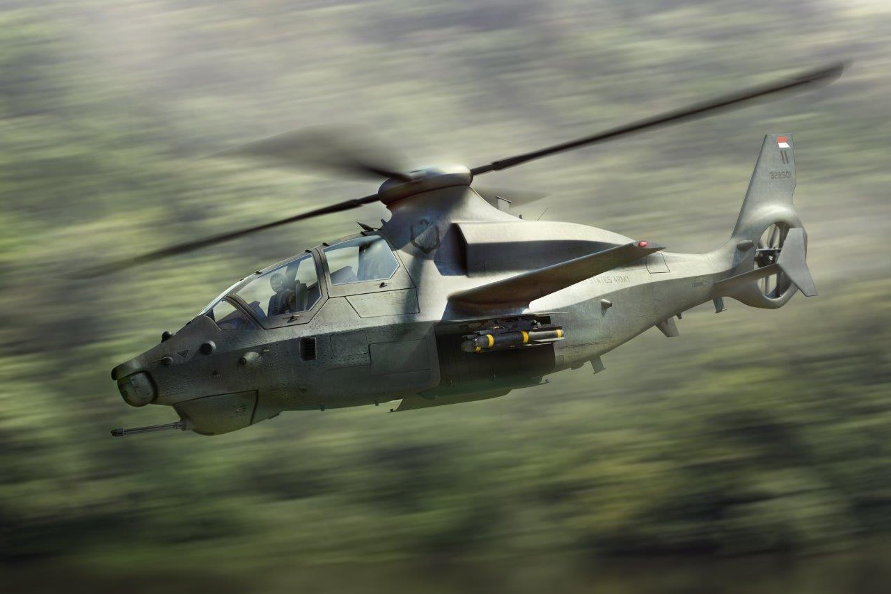 Bell představil kompaktní bojový vrtulník 360 Invictus pro městská bojiště