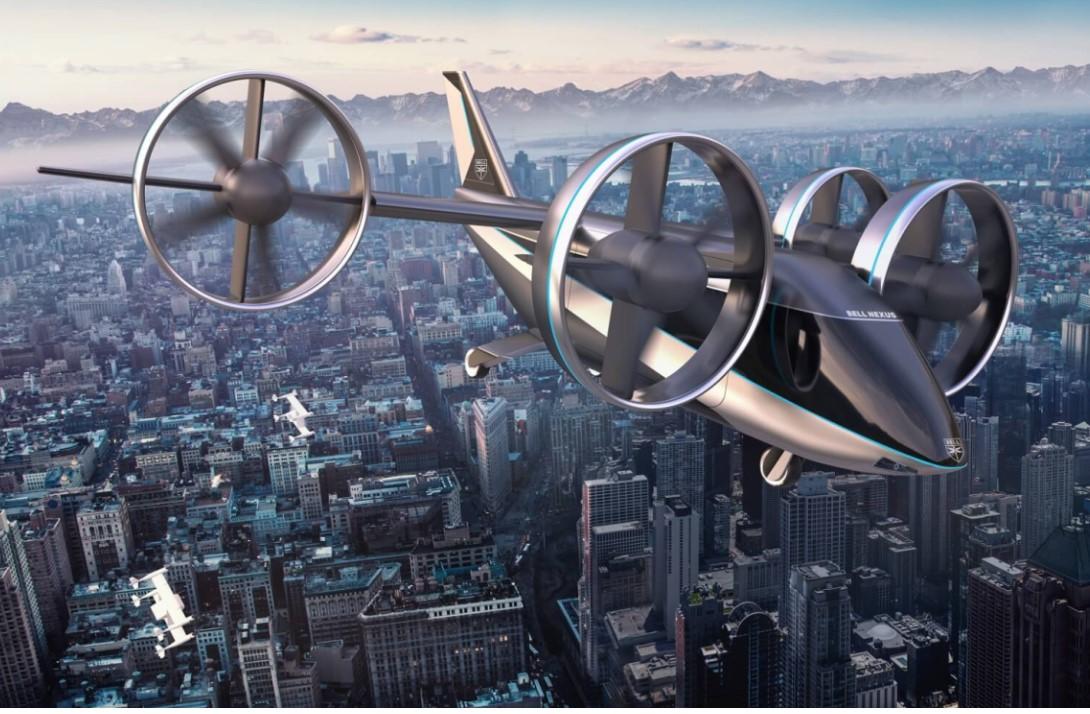 Bell představil novou verzi svého konceptu pro městské letecké služby