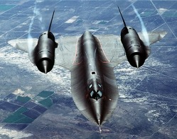 Lockheed SR-71. Zdroj: Wikimedia, foto: U.S. Air Force, Tech. Sgt. Michael Haggerty