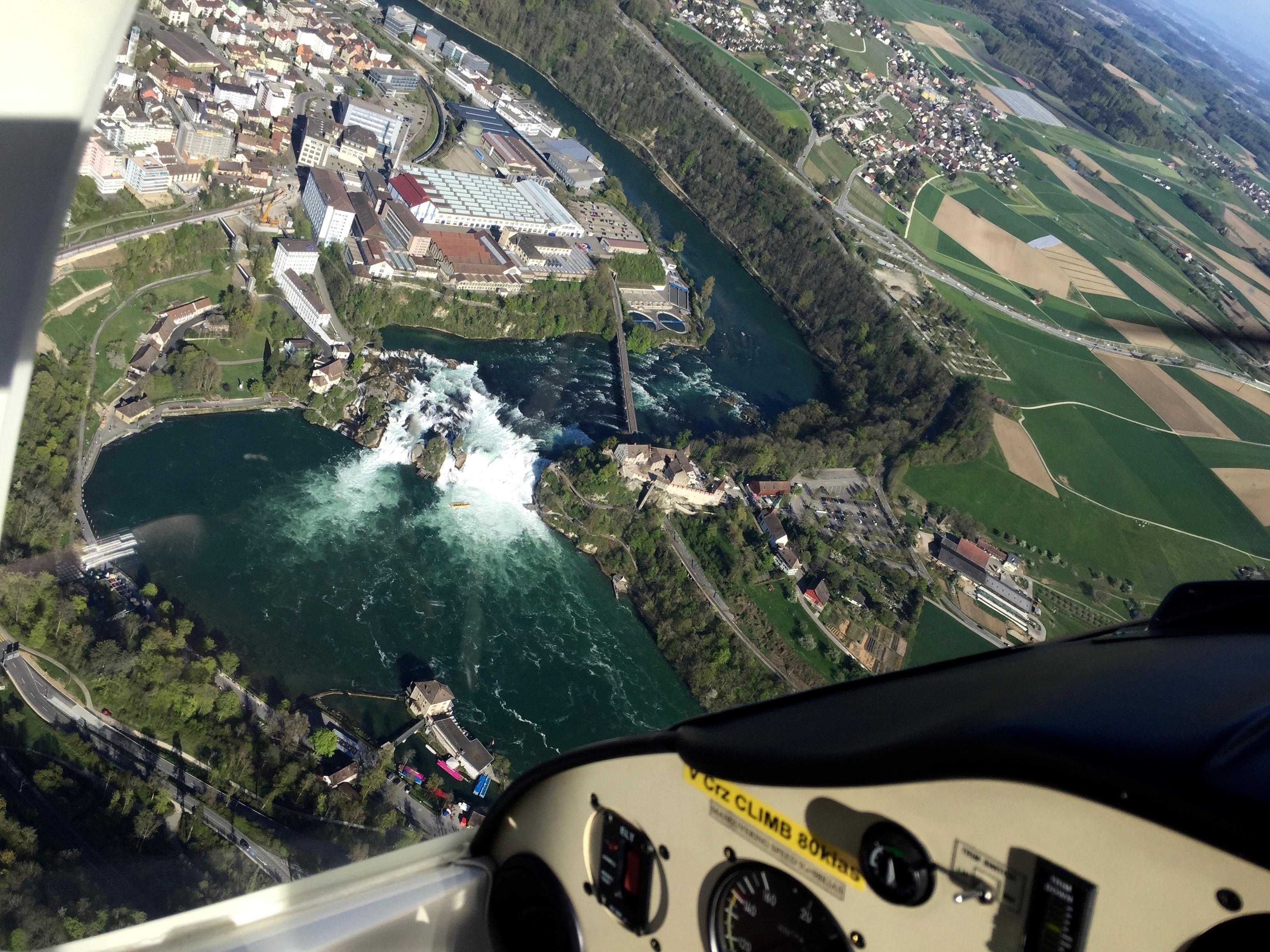 Jak se létá... ve Švýcarsku