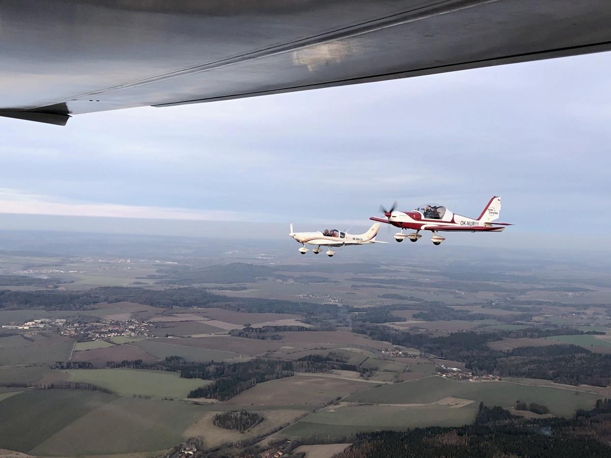 Dobrovolných pilotů je už na 190 včetně Martina Šonky. O jejich pomoc je zájem