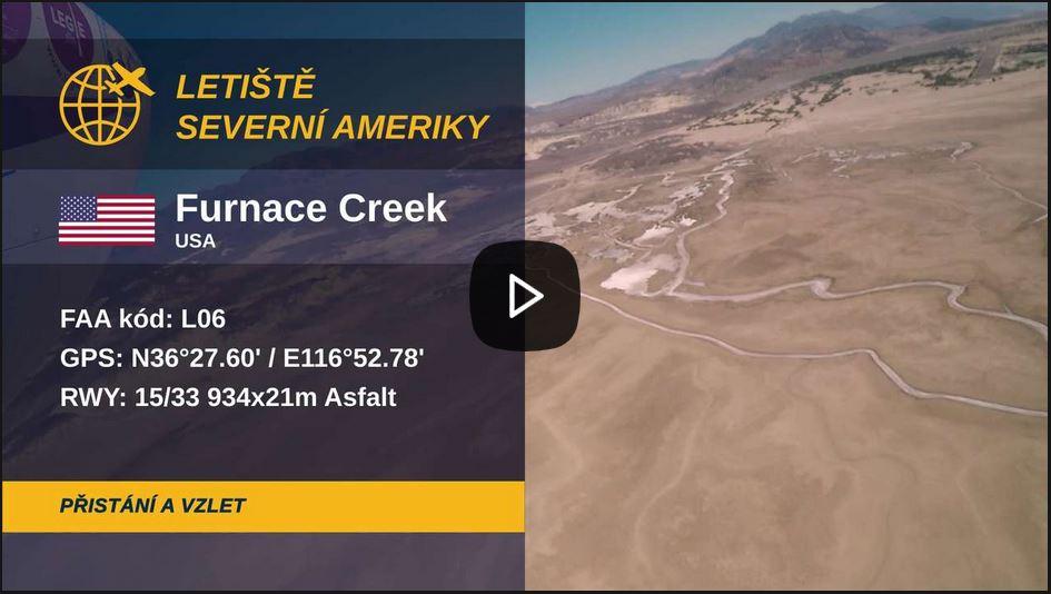 Přistání na nejteplejším místě na zeměkouli: Vítejte na letišti Pecní potok v Údolí smrti