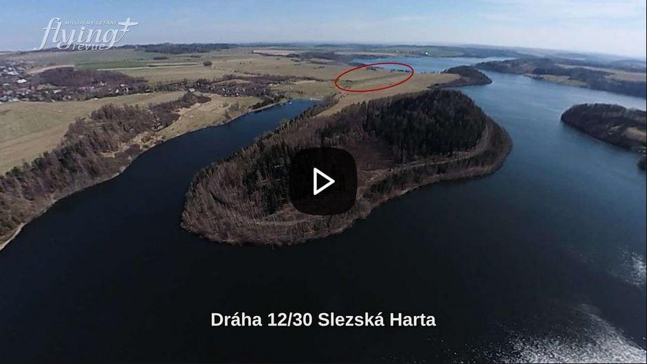 Přistání na dráze, která vede od vody k vodě: Objevte Slezskou Hartu