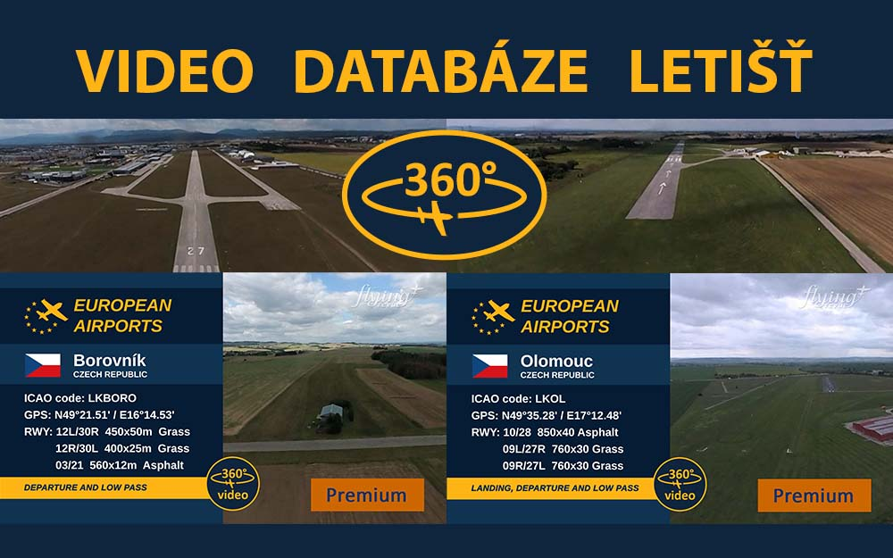 Video databáze letišť - pravidelný update 0.5