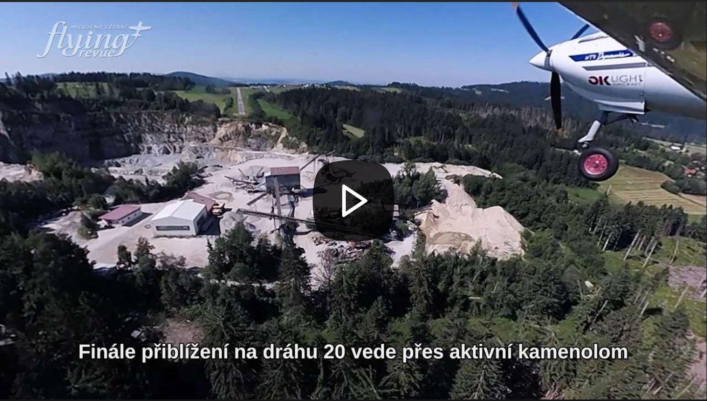Přistání za kamenolomem: Seznamte se s šumavským letištěm Sonnen