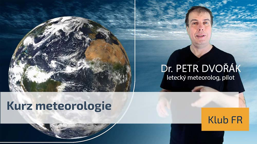 Video kurz letecké meteorologie pro členy klubu Flying Revue