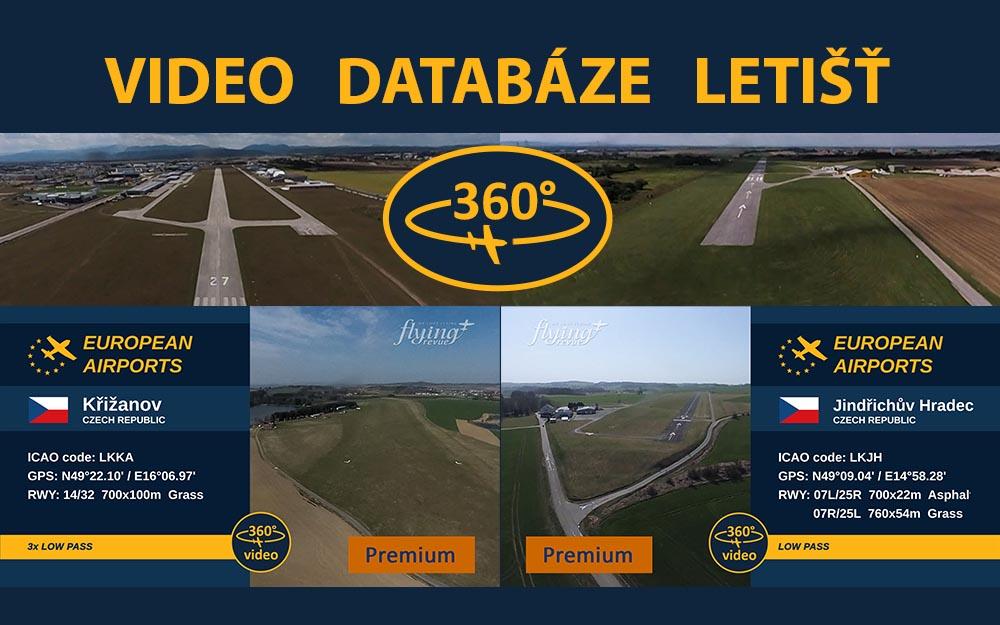 Video databáze letišť - pravidelný update 0.10