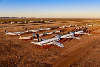 Aircraft Storage Alice Springs. Foto: Steve Strike - Outback Photographics
